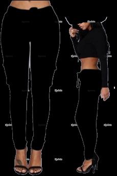 Waist Pant Multi Pocket